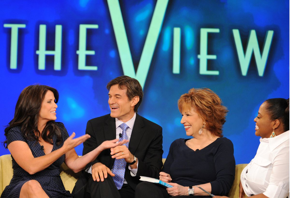Dr.Oz on the View