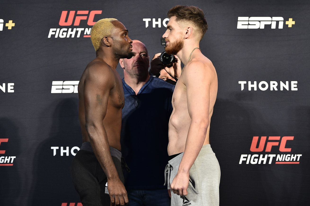 UFC Fight Night Brunson v Shahbazyan: Weigh-Ins