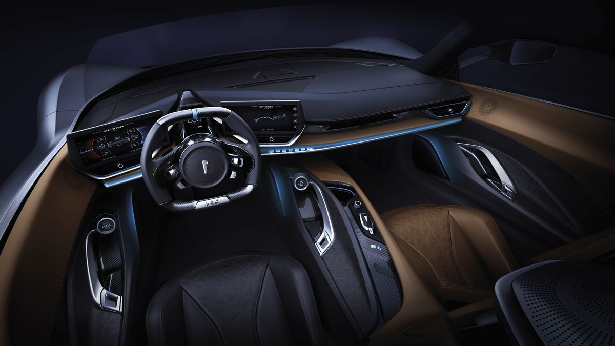 Pininfarina's 1,900 horsepower Battista is one of the