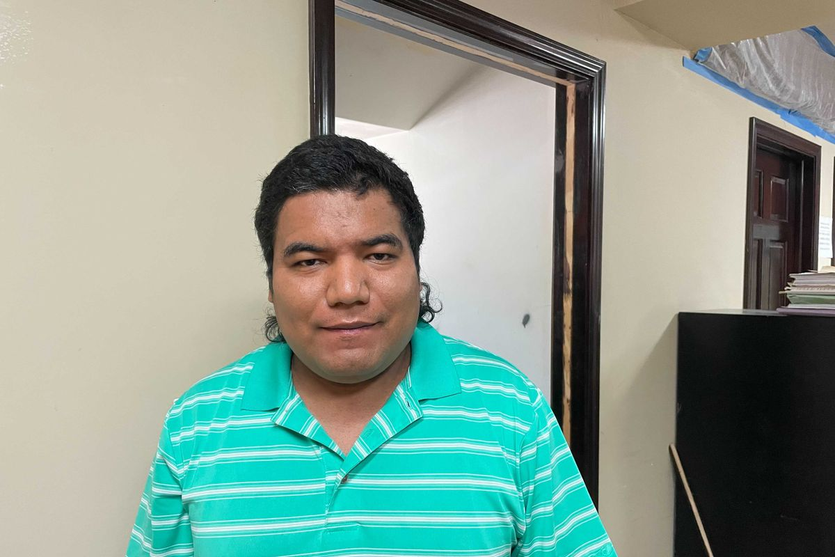 Carmelo Martinez, 34, of Cicero, is seeking answers as to why his older brother, Antonio Martinez, was recently detained by immigration officials.