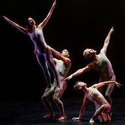 RDT dancers Lynne Listing and Thayer Jonutz, left, and Joshua Larson and Angela Banchero-Kelleher.
