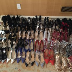 Shoes, shoes, and more shoes. I always come prepared for any last-minute curve balls!
