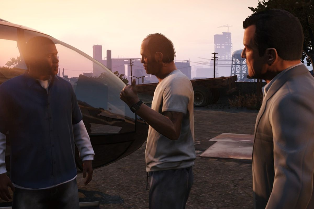Three men impersonate cops to cut GTA 5 waiting line - Polygon