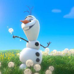"""Olaf in """"Frozen."""""""