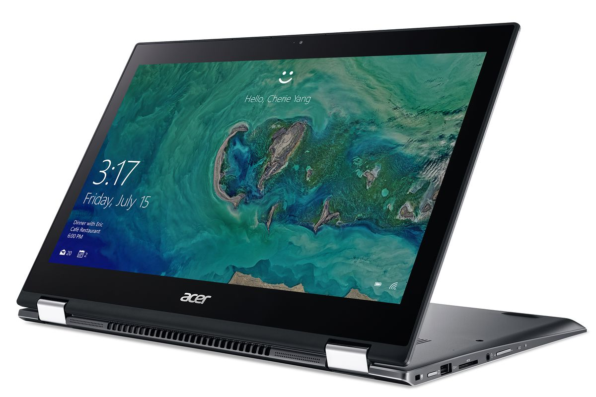 Acer's Spin 5 convertible line now has Intel's 8th-gen chips