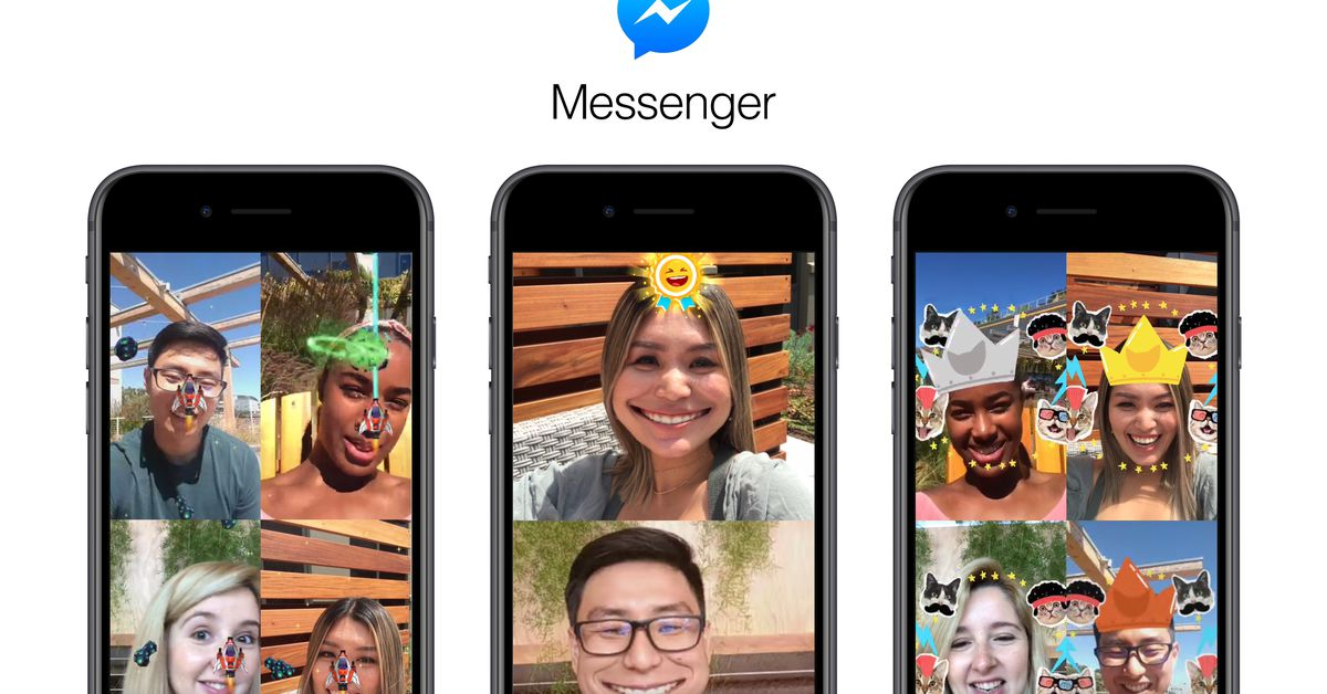 Facebook Messenger's new AR games are just like Snapchat's Snappable lenses