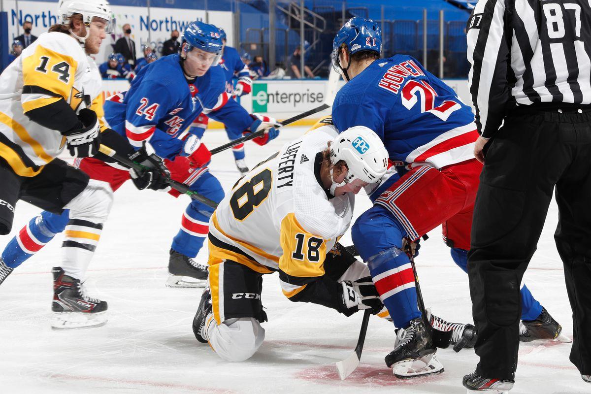 """Pittsburgh Penguins v New York Rangers""""n"""