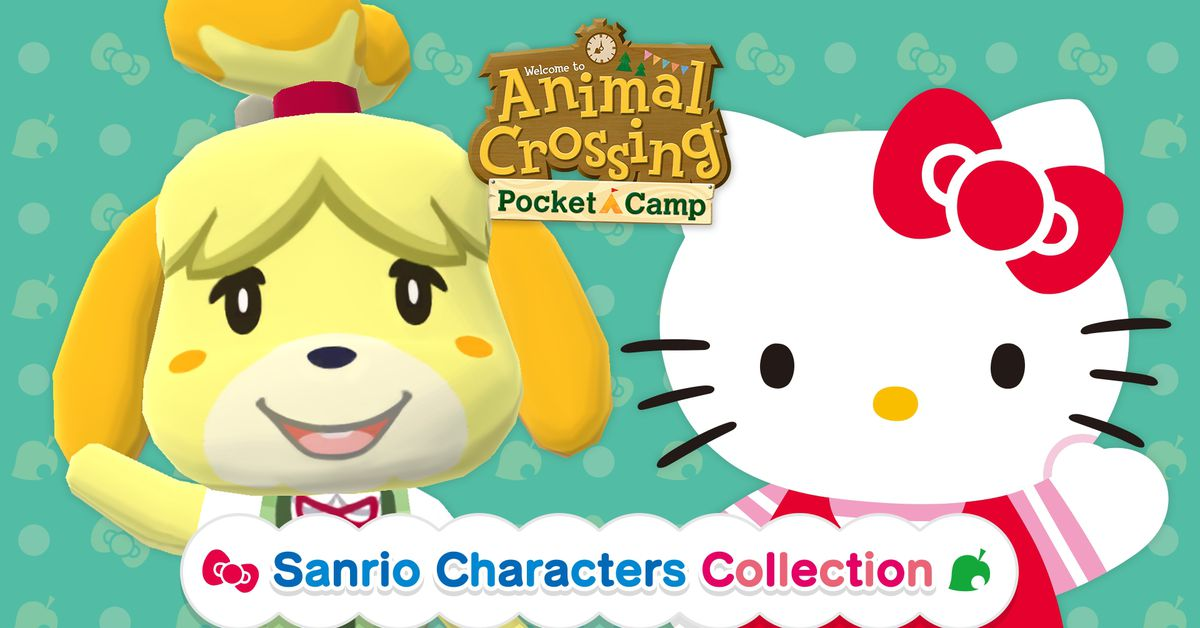 Hello Kitty is coming to Animal Crossing: Pocket Camp