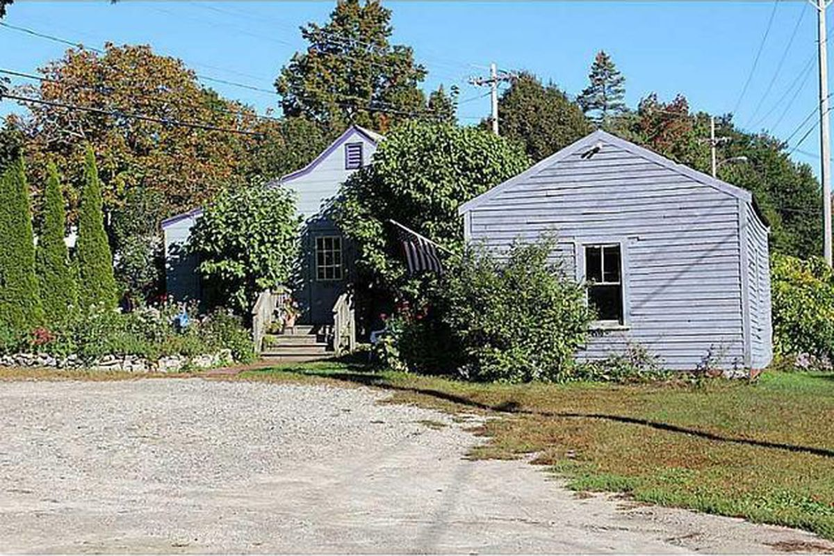 Future home of The Purple House, North Yarmouth.
