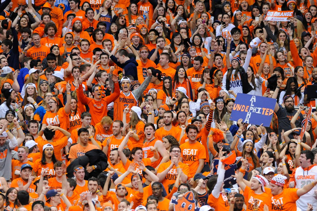 Syracuse Basketball Carrier Dome Named No 2 College