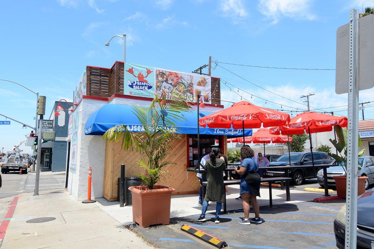 A&J Seafood Shack, Long Beach