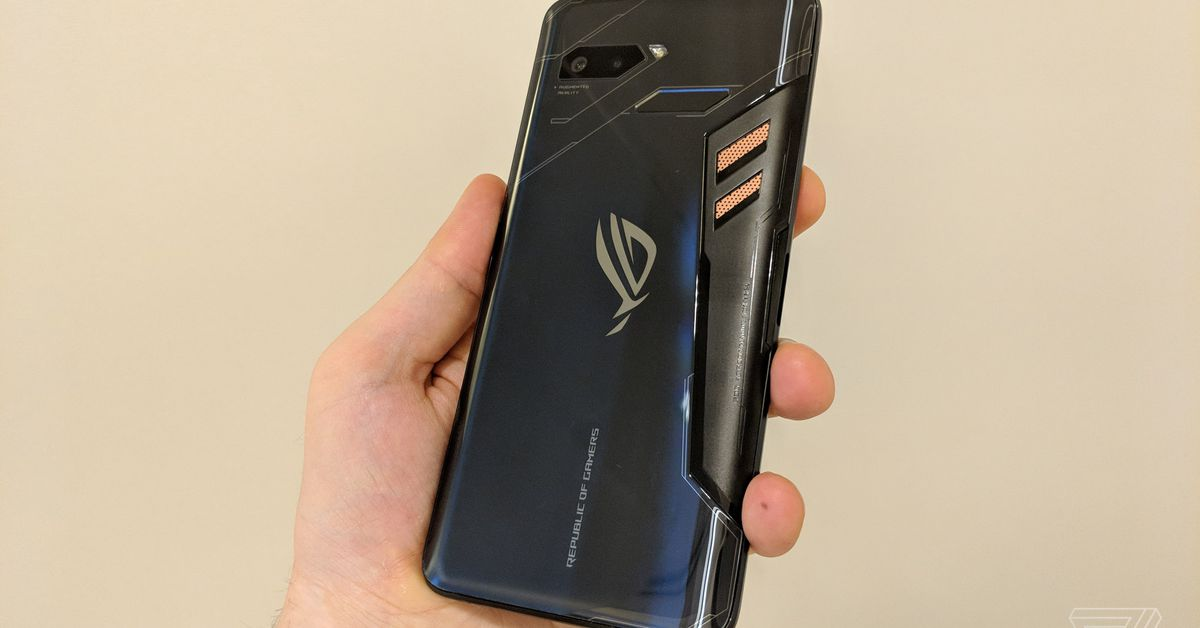 Asus' ROG Phone II is the most spec-heavy gaming phone yet
