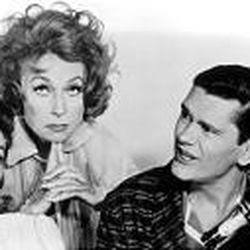 """Elizabeth Montgomery, left, plays a reluctant witch in """"Bewitched"""" with Agnes Moorehead and Dick York."""