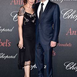 Livia and Colin Firth at the Chopard Gent's party.