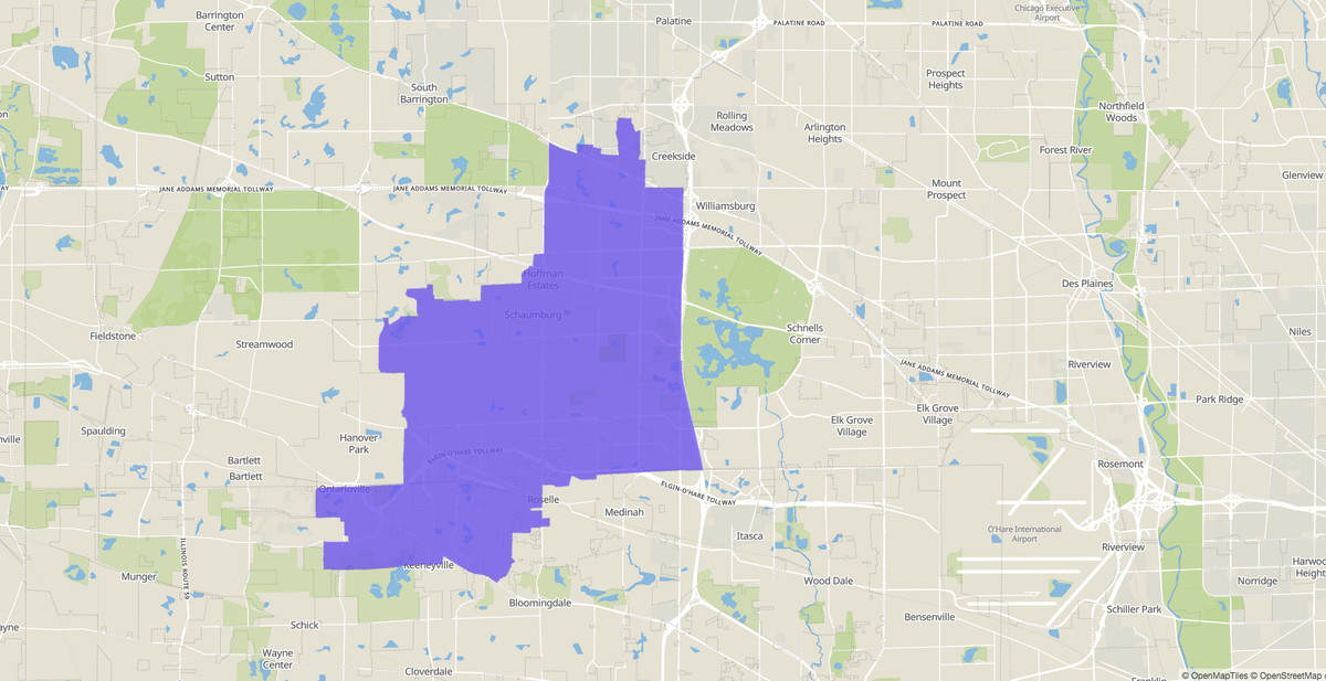 Illinois House 56th District map