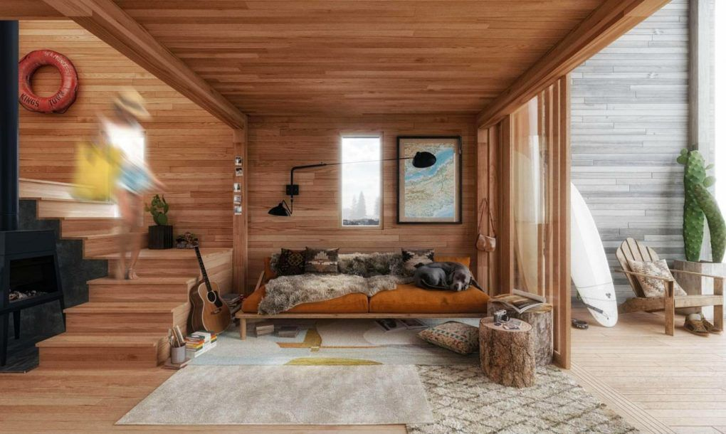 prefab home offers nature getaway flatpack style curbed