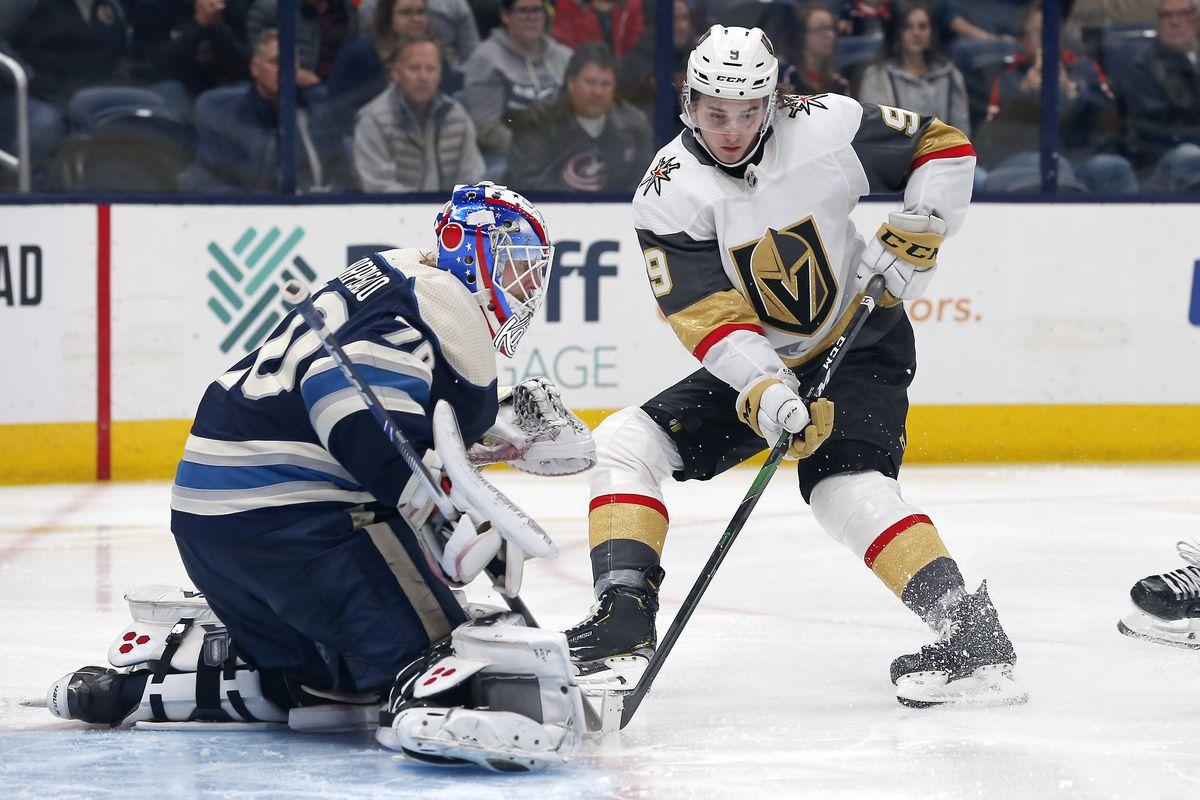 NHL: Vegas Golden Knights at Columbus Blue Jackets
