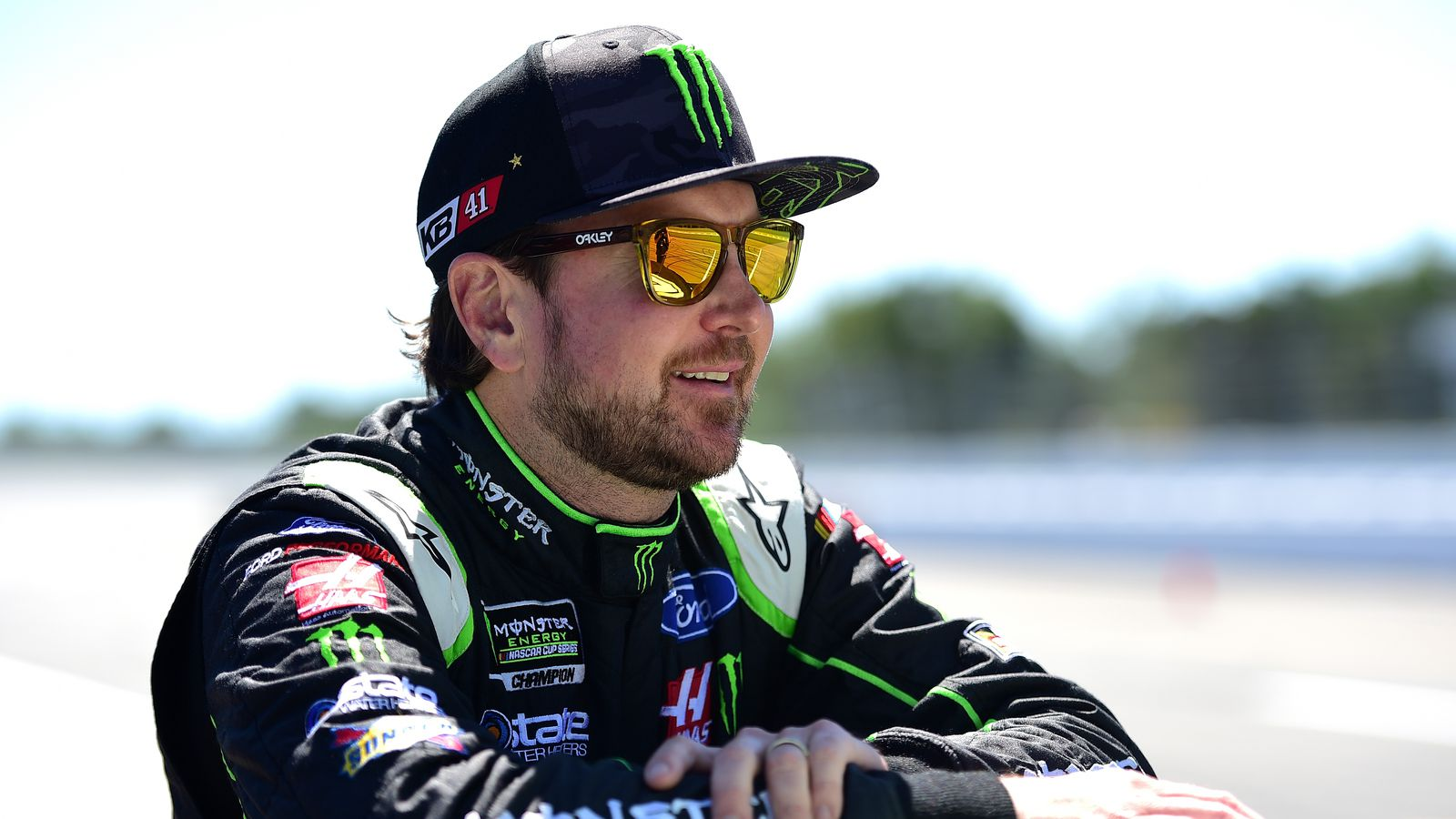 9aae608402d Kurt Busch's 2018 contract not renewed by Stewart-Haas Racing ...