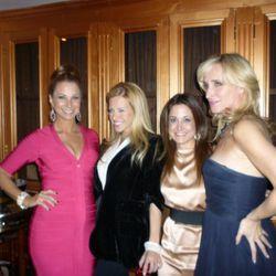 Jill Zarin, Dina Manzo, friend and Sonja Tremont-Morgan