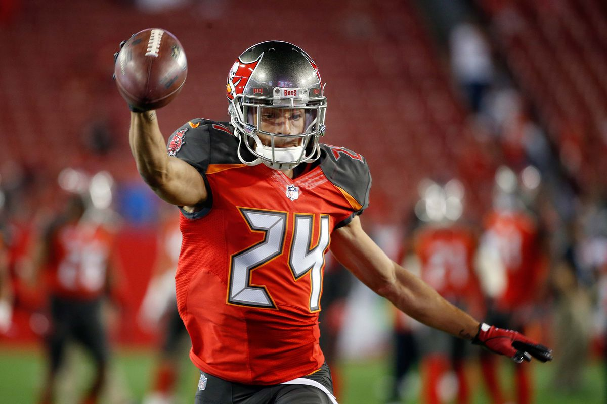 best sneakers ab06f a96cf Bucs CB Brent Grimes rated Top 5 playmaker by Pro Football ...