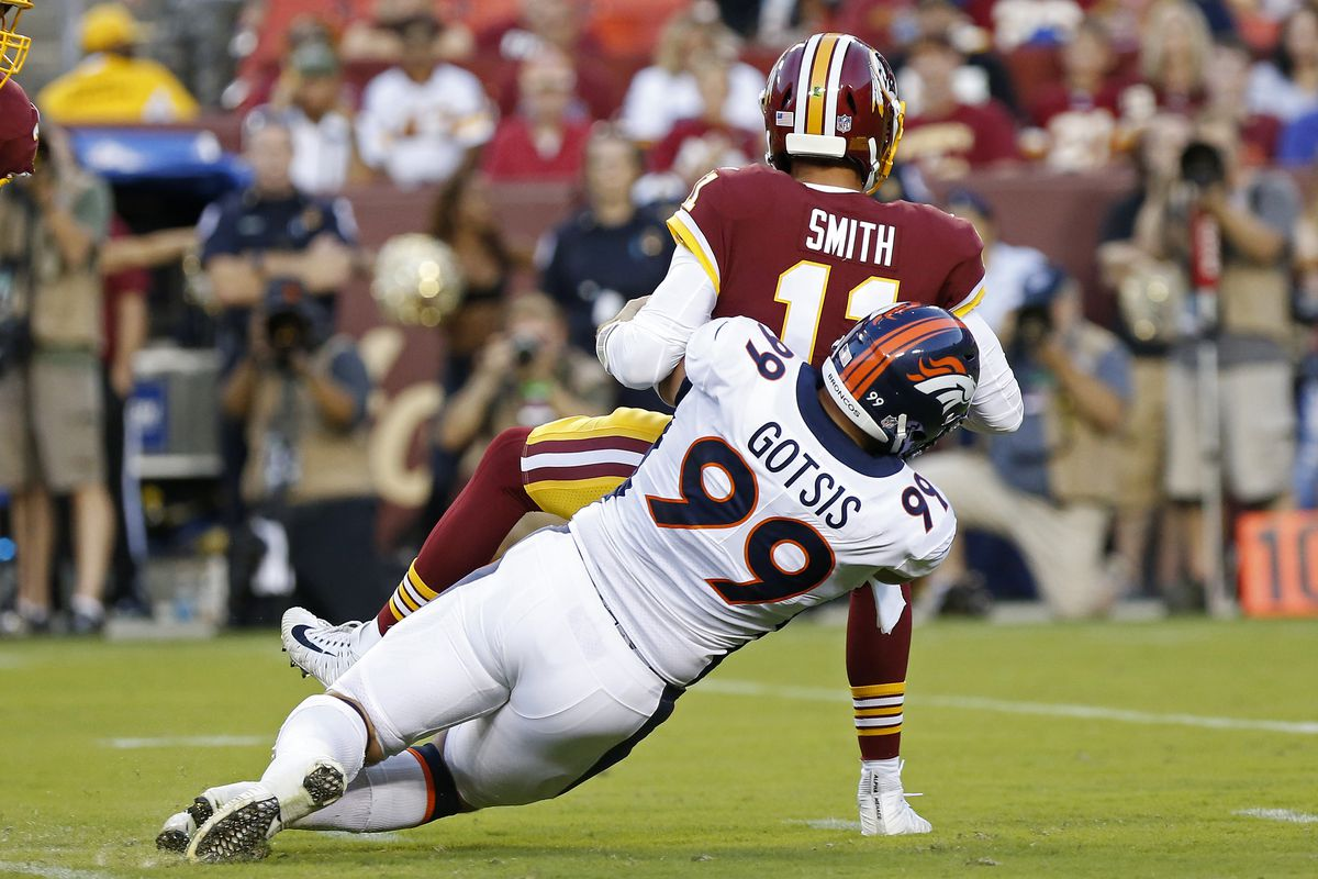 Denver Broncos at Washington Redskins  The No Bull Review - Mile ... 7bccaa745