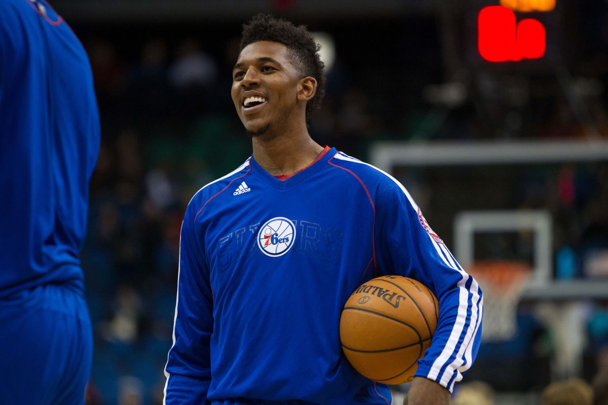 Nick Young has more sneakers than you do.