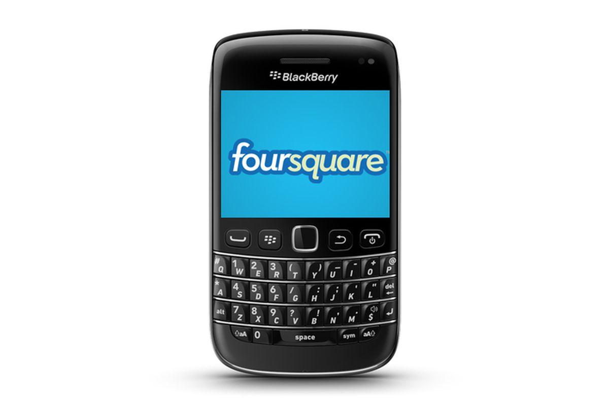blackberry foursquare non-assy