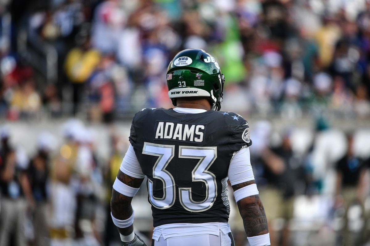 Jamal Adams #33 of the New York Jets in action during the 2020 NFL Pro Bowl at Camping World Stadium on January 26, 2020 in Orlando, Florida.