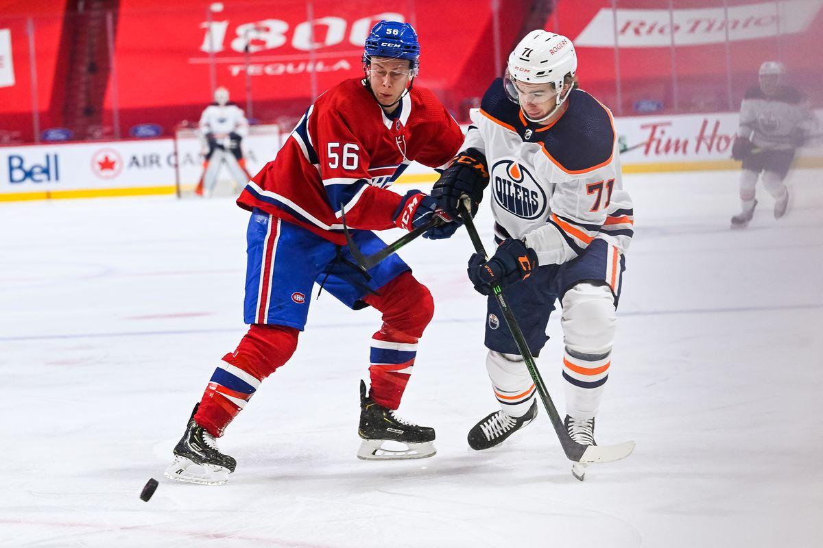 NHL: MAY 12 Oilers at Canadiens