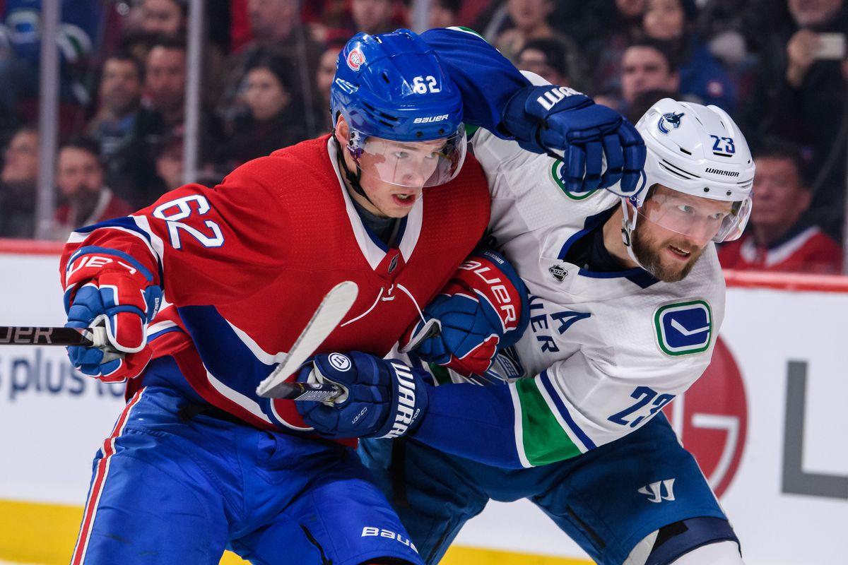 NHL: JAN 03 Canucks at Canadiens