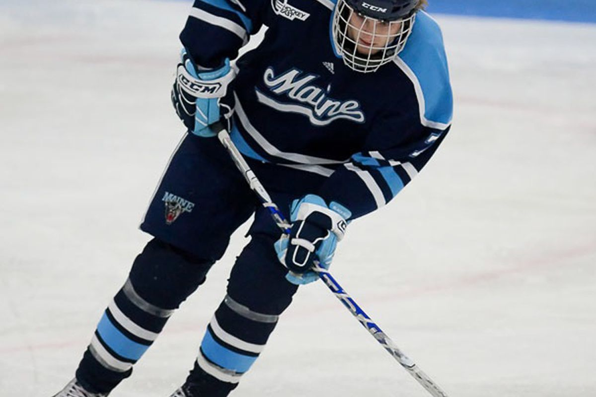 "Robby Dee via <a href=""http://goblackbears.cstv.com/sports/m-hockey/main-m-hockey-body.html"" target=""new"">Peter Buehner, Univeristy of Maine</a>"