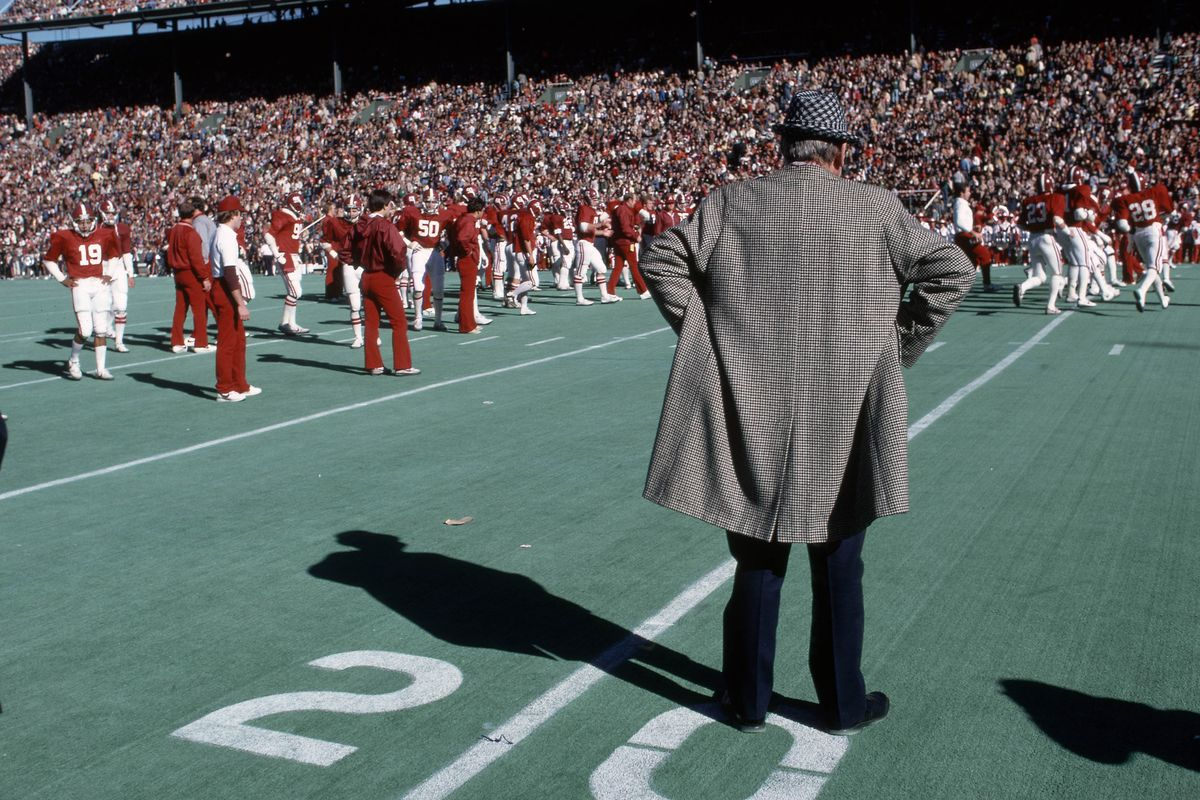This guy won't be coaching the Tide this weekend.