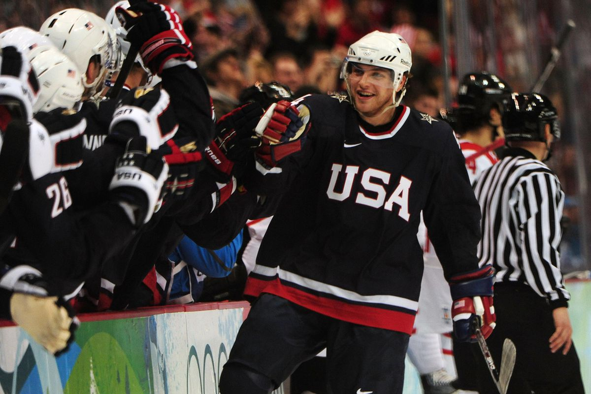 Bobby Ryan was an Olympian in 2010. He's not on the team in 2014.