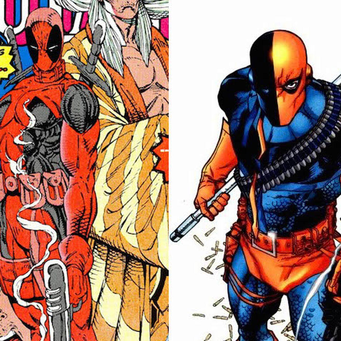 Deadpool was originally a ripoff of a DC Comics villain