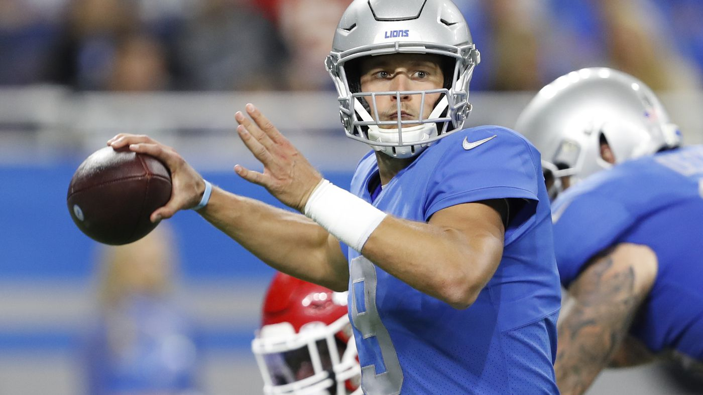 Rowe Report: Detroit Lions are for real, Stafford is a badass
