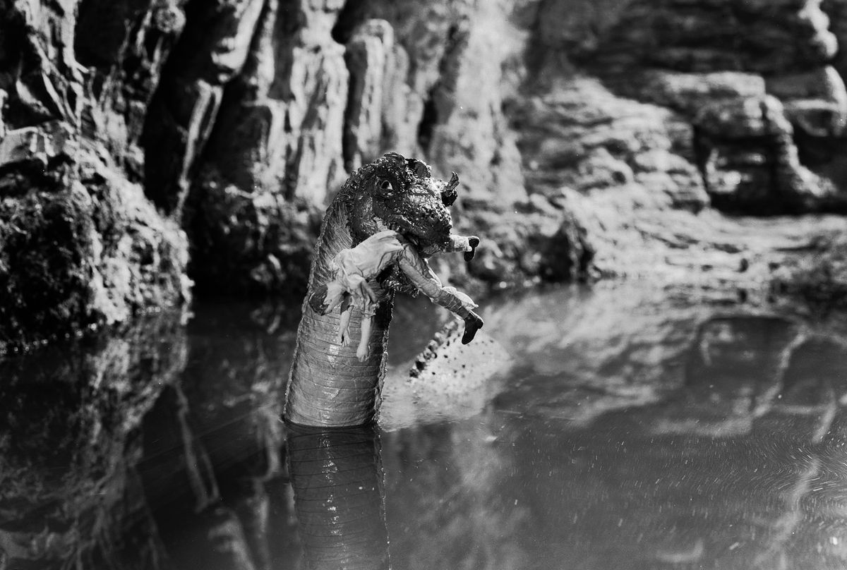 The Loch Ness monster in 1933's King Kong. (Ernest Bachrach/John Kobal Foundation/Getty Images)