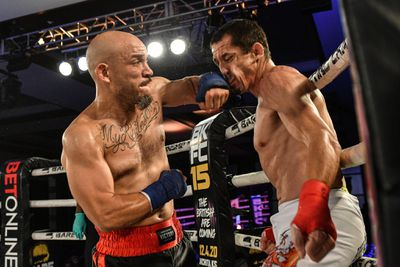 Emv4aQdXMAAikTP - Palomino crushes Alers in 44 seconds to retain BKFC 155-pound title