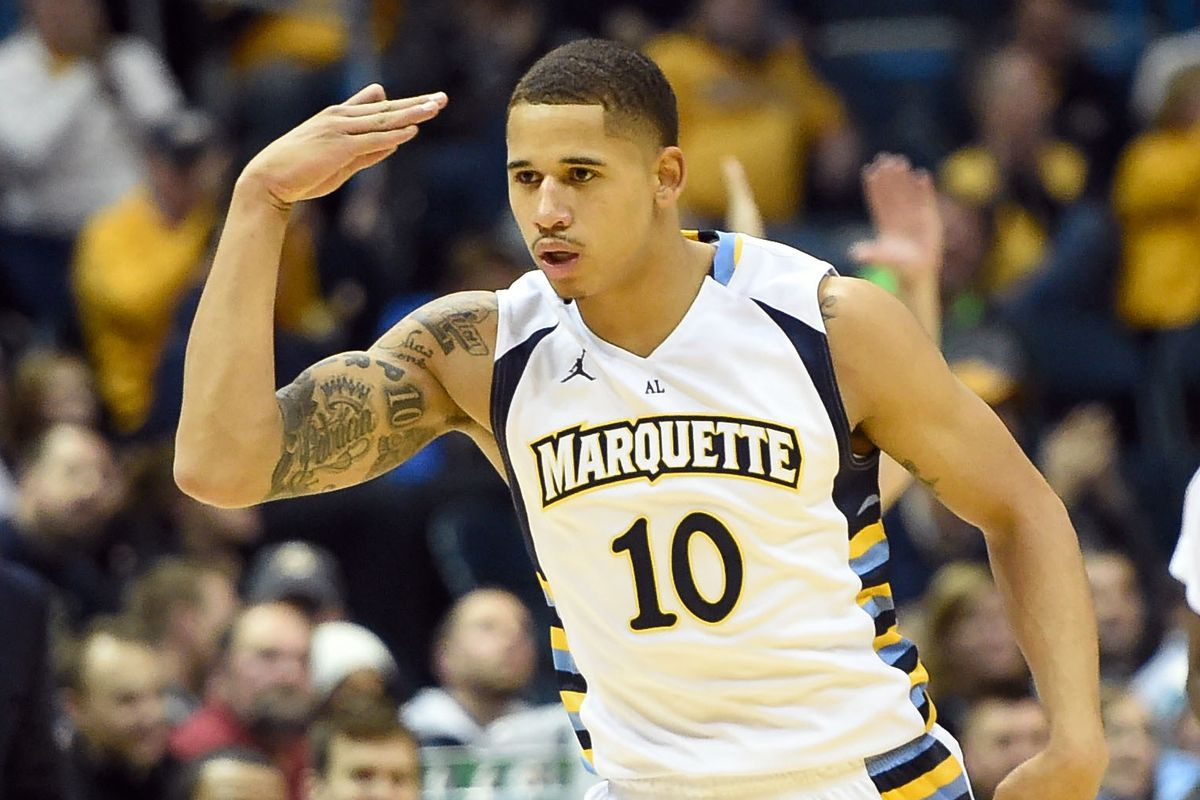 It's November of 2014 and Juan Anderson is carrying Marquette.