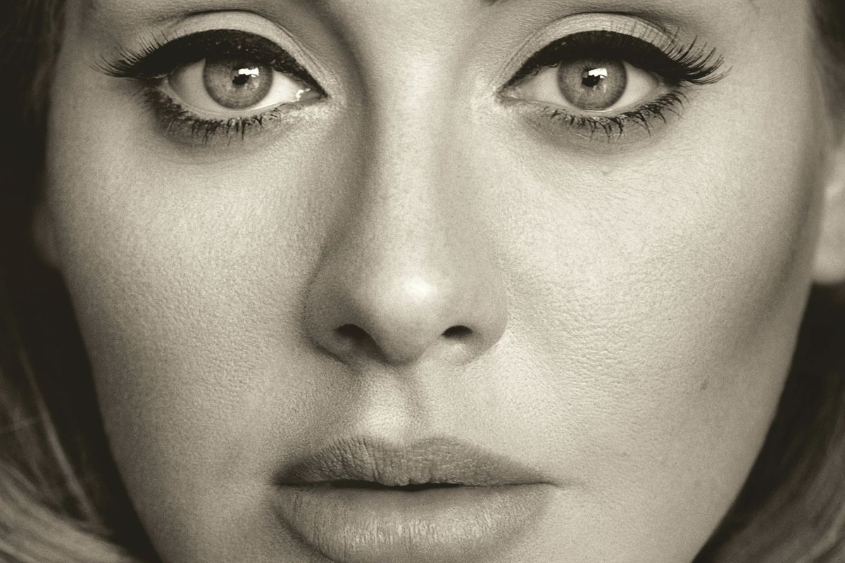 Adele's not just setting records — she's crushing them into a fine powder and laughing in their dumb faces.