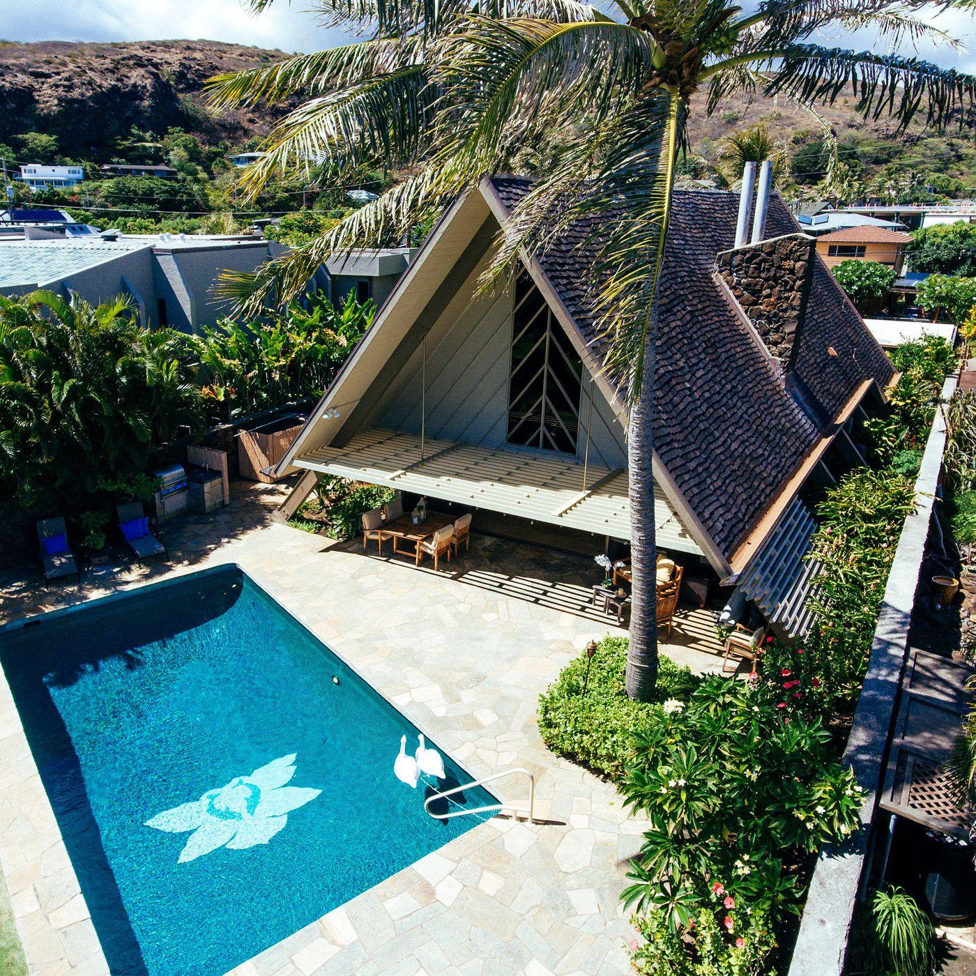 Rad Midcentury A Frame Beach House
