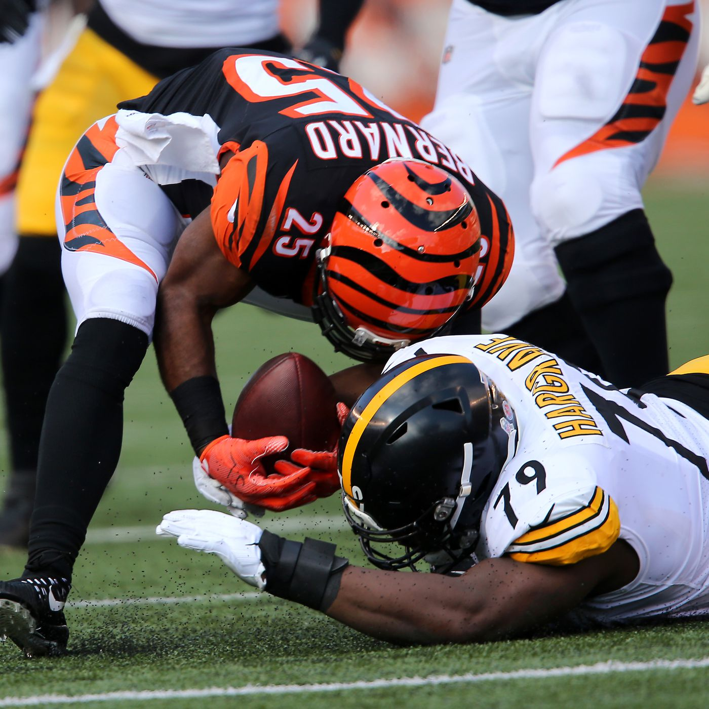 Steelers Vs Bengals Week 12 2nd Quarter Live In Game