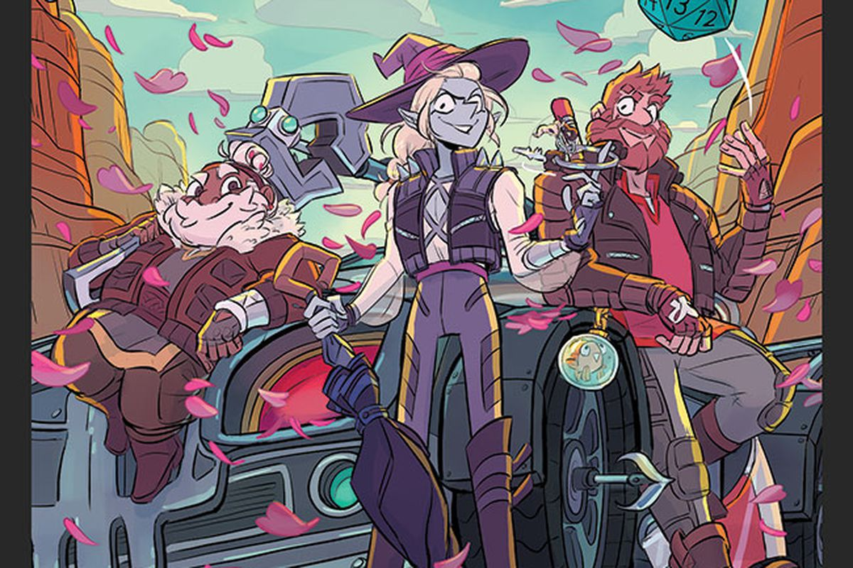 The Adventure Zone Petals To The Metal Pre Orders Now