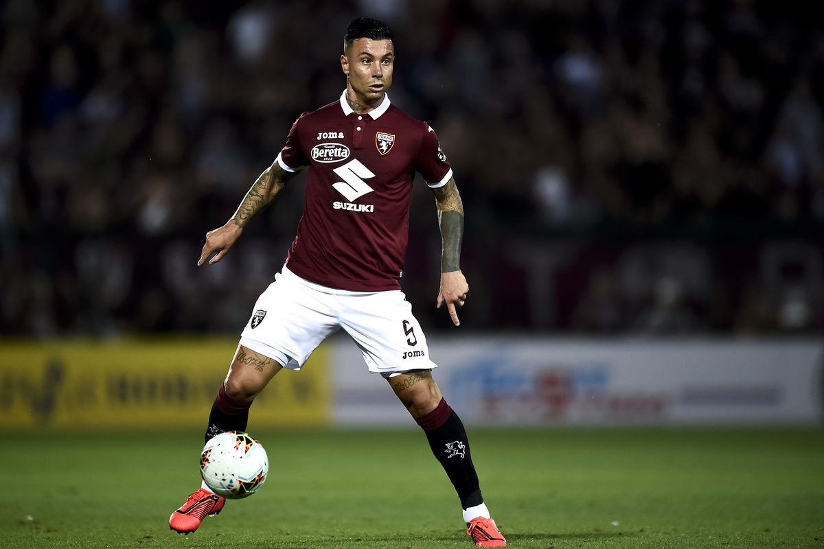 Armando Izzo of Torino FC in action during the UEFA Europa...