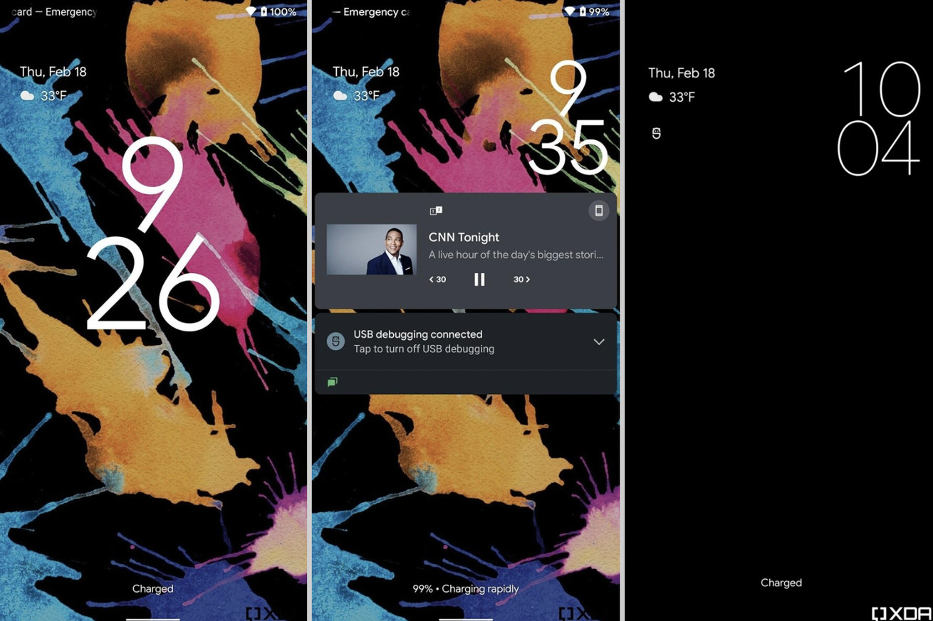 Stacked widgets and a new look for the lock screen may be coming to Android 12