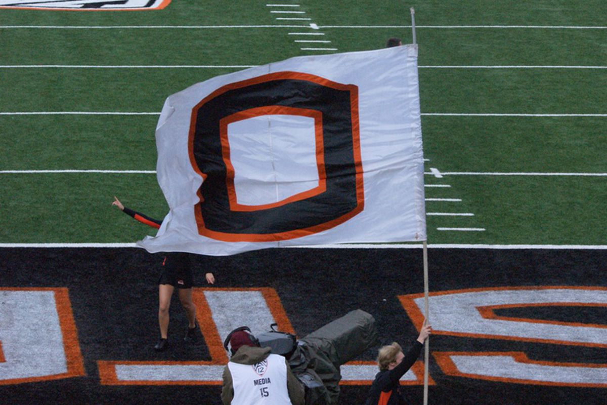 Oregon St. is flying its flag one spot higher in the final regular season blog poll.