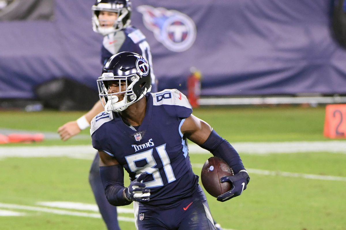 Jonnu Smith Fantasy football start/sit advice: What to do with the Titans  TE in Week 11 - DraftKings Nation