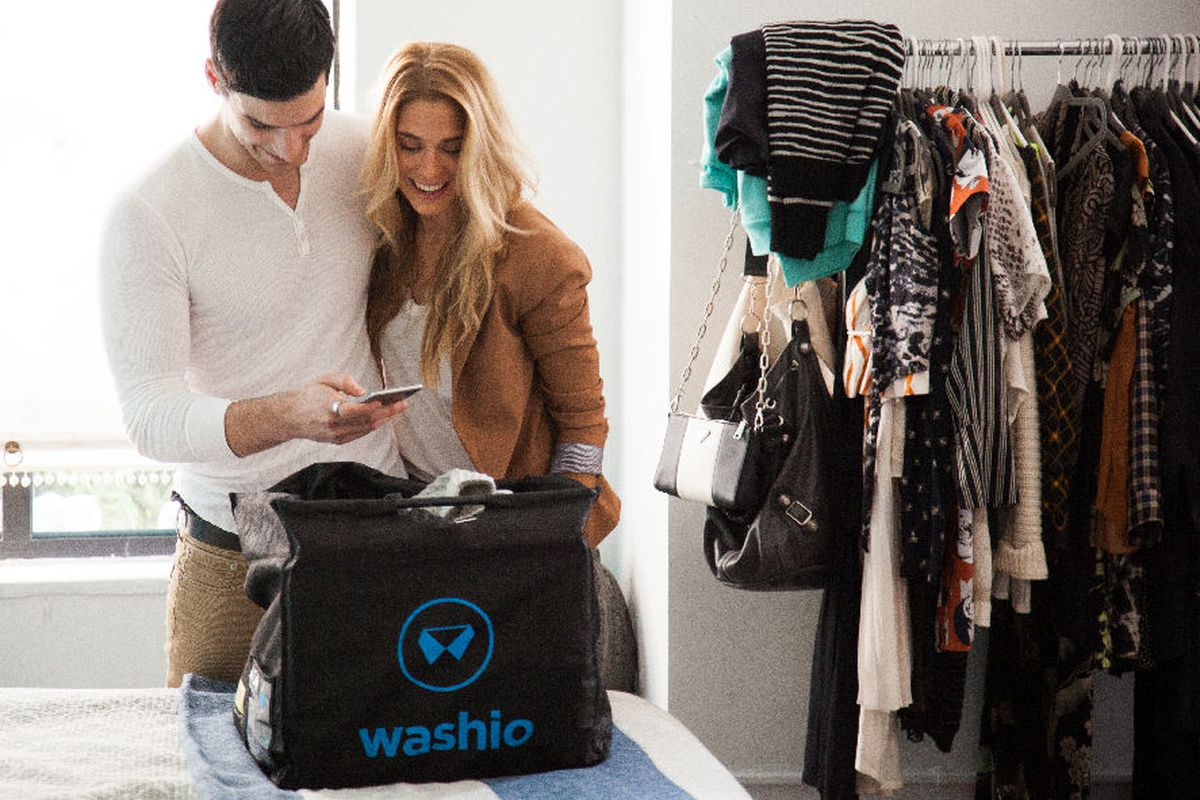 The couple that refuses to do laundry together, stays together. Photo: Washio