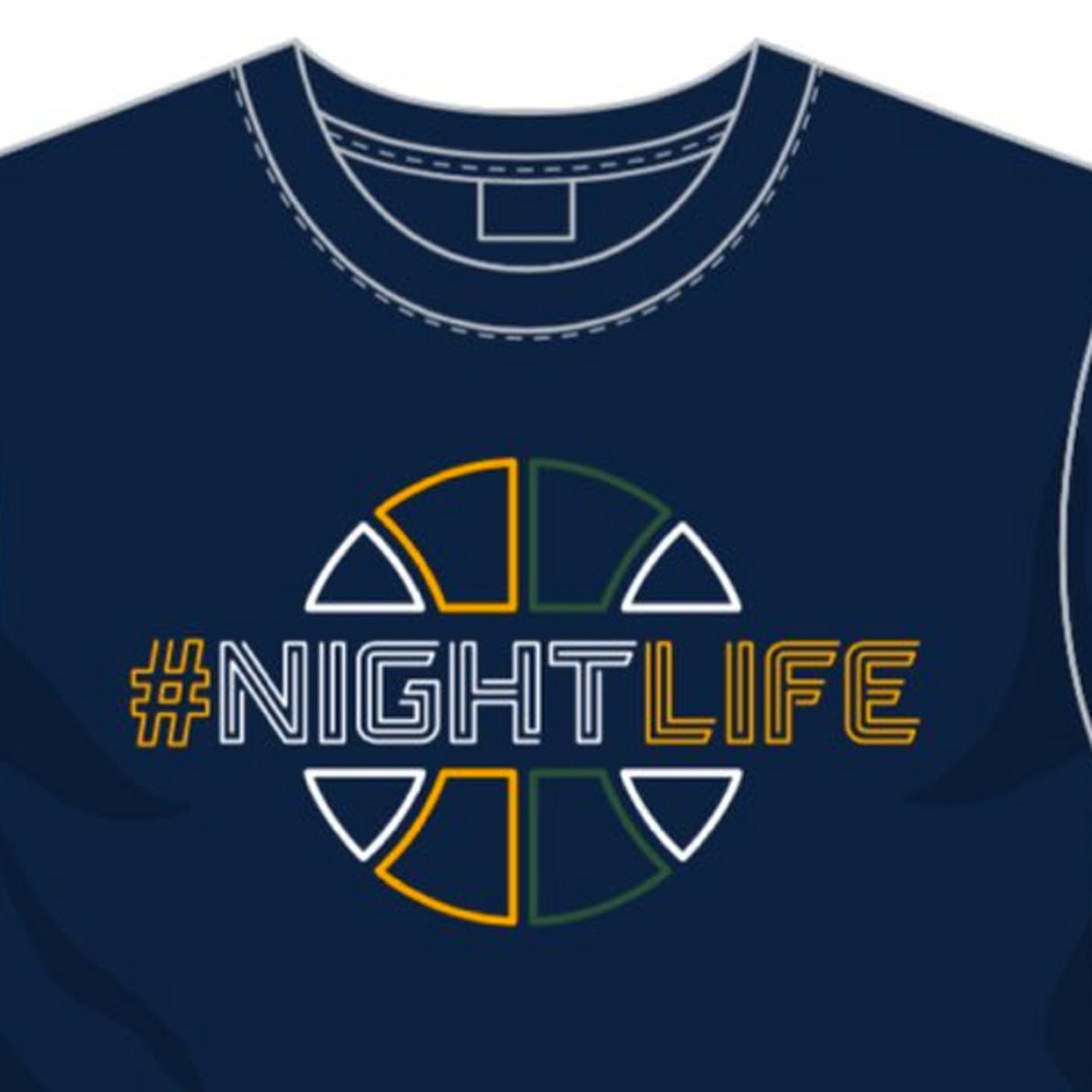 228a6c48afe Utah Jazz poke fun of Warriors with shirts that read  Nightlife -  SBNation.com