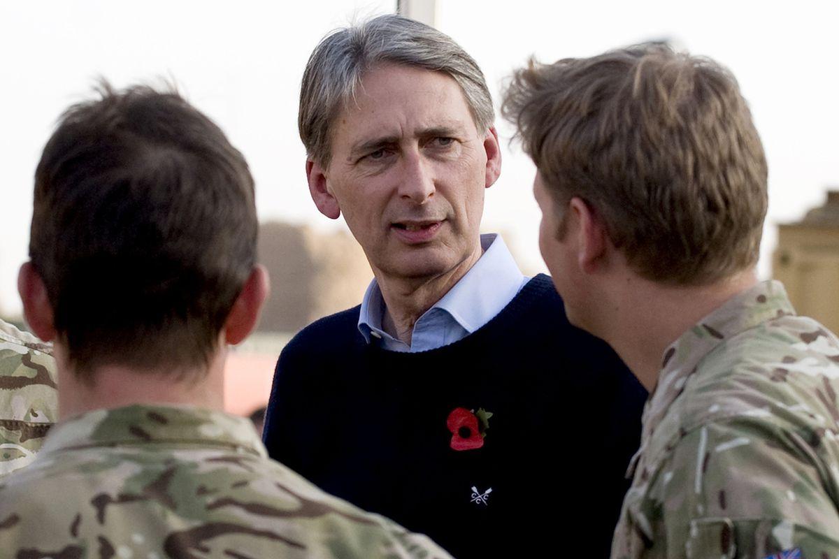 Philip Hammond British Defense Secretary (Wikimedia Commons)