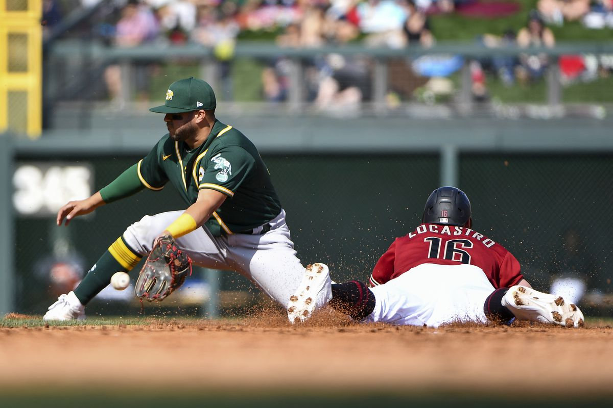 Second base stolen during spring training.